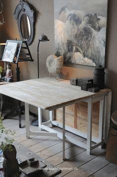 'Zweedse' slagbord/gateleg tafel