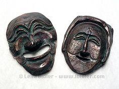 hahoe_masks_swellegant_Leila Bidler  polymer clay