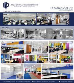 Interior design Lazada Office