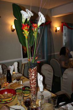 Mexican fiesta centerpieces for Baby shower