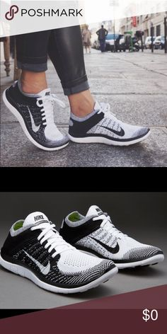 afd56566c1a52 ISO NOT SELLING!! NIKE 4.0 FLYNIT BLACK   WHITE looking for these black and