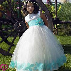 be1ed0128 41 imágenes encantadoras de Vestidos de niña para fiesta