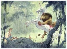 Neil Gaiman's Stardust- Lion and The Unicorn