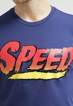 Love Moschino - T-Shirt print - navy