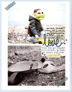 Love layout by NICOLE M.