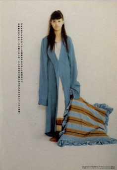 '94 Hinano Arc, Photo Reference, 90s Fashion, 1990s, Cute Girls, Magazines, Personal Style, Duster Coat, Actresses
