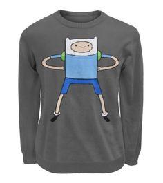 Got some new school clothes! Finn sweatshirt from Amazon!