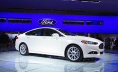 The newly redesigned 2013 Ford Fusion preview - Car and Driver YES Im diggin it even though it is a ford