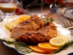 Get Chipotle Spiced Grilled Turkey Breast Recipe from Food Network