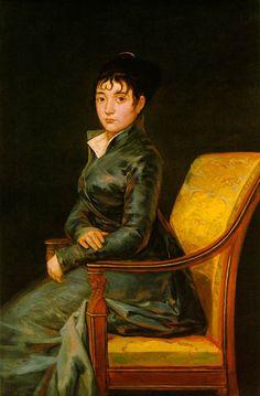 Goya (y Lucientes), Francisco (José) de --Image Dona Teresa Sureda  c. 1805