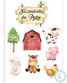 1st Boy Birthday, 1st Birthday Parties, Cow Illustration, Cute Animal Clipart, Joker Comic, Baby Favors, Cute Cows, Farm Party, Farm Theme