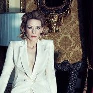Cate the Great! I will be in a film with her someday soon. (period)