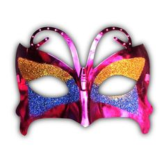 10 Antifaces Mariposa Fiestas Evento Batucada Antifaz - $ 59.00 en ...