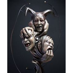'See No Evil, Hear No Evil, Speak No Evil' by Akihito Ikeda