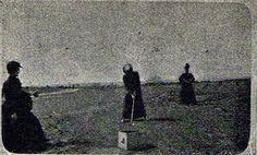 Primer testimonio fotografico peninsular de golf 1898 - Spain