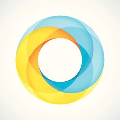 Vector Art : Abstract Circular Logo Design Element
