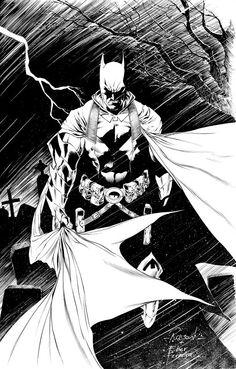 Earth 2 Batman by Robson Rocha and Eber Ferreira