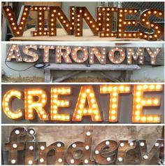 Light bulb signs www.signsbyknight.com.au