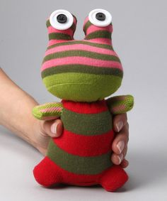 It would impossible not to love these sock friends by NO3NO4 on #zulily