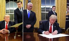 DAY ONE: #TRUMP GETS TO #WORK!