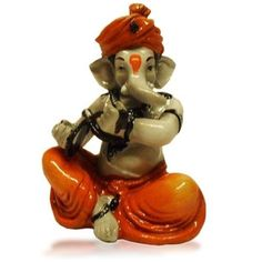 Fiber Ganesha Playing Manjri #CraftShopsIndia
