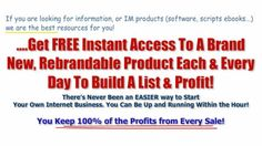 #1 Source For Private Label Rights, Master Resale Rights and Master Rese...