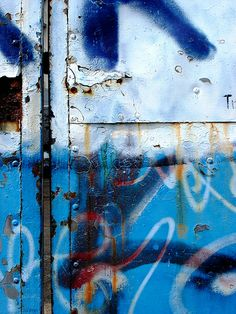 more blue doors