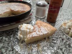 one pan cake with fruit/Martha's