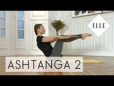 Cours de Yoga Ashtanga pour niveau Moyen I ELLE Yoga - YouTube