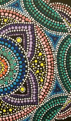 Mandala Pontos em Cores www.facebook.com/Pontos.em.Cores/