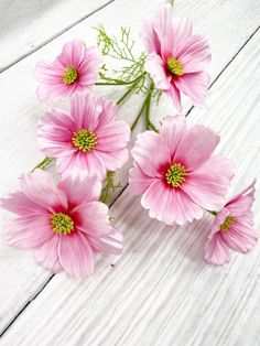 This Pink Cosmo Stem is long. Flower Making, Cosmos, Pretty In Pink, Pink Flowers, Farmhouse Decor, Florals, Diys, Bloom, Crafting