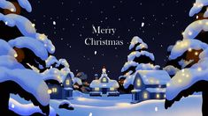 Merry Christmas!    Animation by Lee Jonghoon  BGM : Mama Cass Elliot - New World Coming    VCRWORKS Merry Christmas Gif, Cozy Christmas, Christmas Design, Christmas And New Year, Illustration Noel, Christmas Illustration, Ipad Art, Abstract Nature, Environment Design
