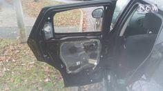 Nissan Juke Damaged Rear Door Glass