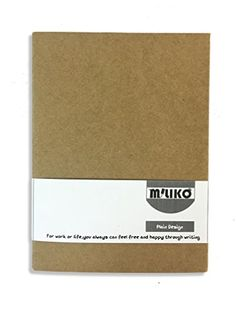 "Miliko Board Kraft Sleeve Sewing Cover Sketchbook/plain design Notebook, 3.75""x5.25"" Kraft paper inner pages, 60 sheet(120 pages)-VALUE PACK OF 2 PCS Miliko http://www.amazon.com/dp/B01BB7JZQ0/ref=cm_sw_r_pi_dp_Q8HTwb1CH8KPW"