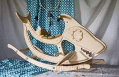 Деревянная качалка - акула – купить или заказать в интернет-магазине на Ярмарке Мастеров | Уникальная качалка акула для неординарных…