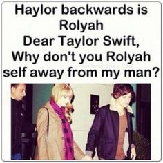 Haylor... Don't really like it but I want Harry to be happy... Why is life so difficult!!!
