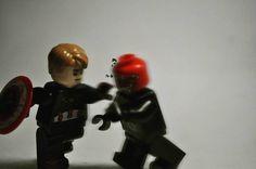 Super-Soldier vs Hydra #lego #marvel #legomarvel #captainamerica #vibranium #shield #legostagram #legogram #legophotography #bricknetwork #hydra #avengers #wintersoldier #captainamericathewintersoldier #BricksInFocus #lego_hub #brickpichub #redskull #supersoldier by choo_choo_express