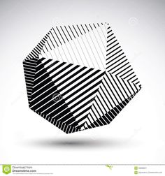 3D Abstract Spherical Object With Lines And Dots Over Dark Backg ...
