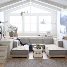 Pb Teen, Chill Lounge, Hangout Room, Teen Hangout, Basement Renovations, Basement Ideas, Basement Layout, Teen Basement, Basement Stair
