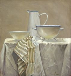 Petra Reece. There is something I love about the simplicity of this painting.