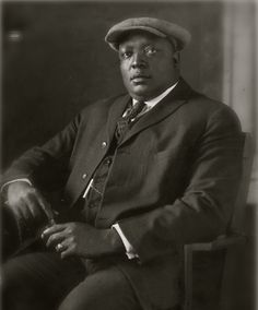"Today In History  'Andrew ""Rube"" Foster, organizer of the Negro Baseball League, the first Black baseball league, was born in Galveston, TX, on this date September 17, 1879.'  (photo: Andrew ""Rube"" Foster)  - CARTER Magazine"
