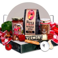 Gourmet Gift Baskets Pizza Making Gift Basket Giveaway