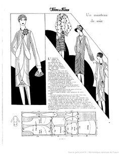 Manteau de soie (La Femme de France 06/05/1928)