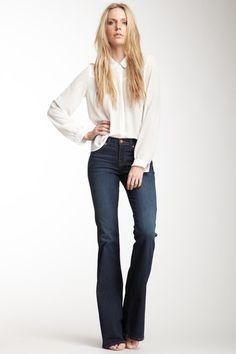 J Brand Bell Bottom Jean on HauteLook