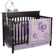 Just Born Plum 8-Piece Crib Bedding Set