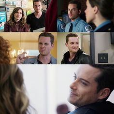 @Tracy Allighen the many faces of jay halstead also go hand in hand with the many faces of jesse