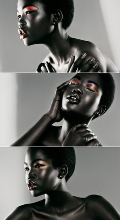 Malaan Ajang - maybe it's just the photography, but I love the look of her skin