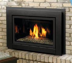 Home :: Inserts :: Gas Inserts :: Kingsman Direct Vent Fireplace Insert - Millivolt - Propane - Natural Gas Fireplace, Propane Fireplace, Propane Stove, Direct Vent Fireplace, Electric Fireplace Insert, Fireplace Inserts, Fireplace Ideas, Basement Fireplace, Lounges