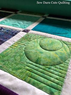 Sew Darn Cute Quilting: Ombre Efffect, A Friendly Gift 3 of 3