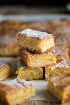 A very delicious gooey butter cake recipe   Drizzle and Dip